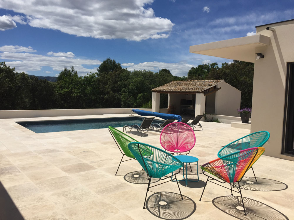 renovation piscine Luberon Batiment